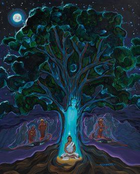 Siddhartha Under The Bodhi Tree