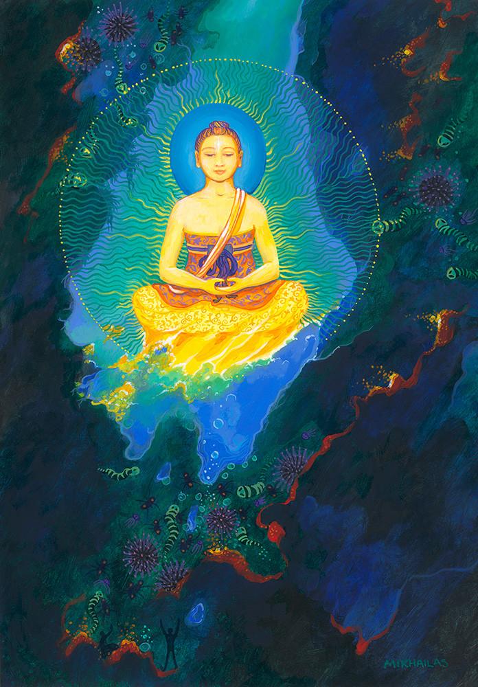 Buddha Nature In Ocean Of Samsara